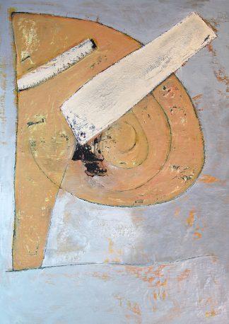 Letter_P, original art, oil-painting on paper