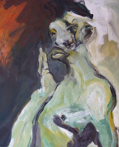 Looker, oil-painting on canvas, online art gallery