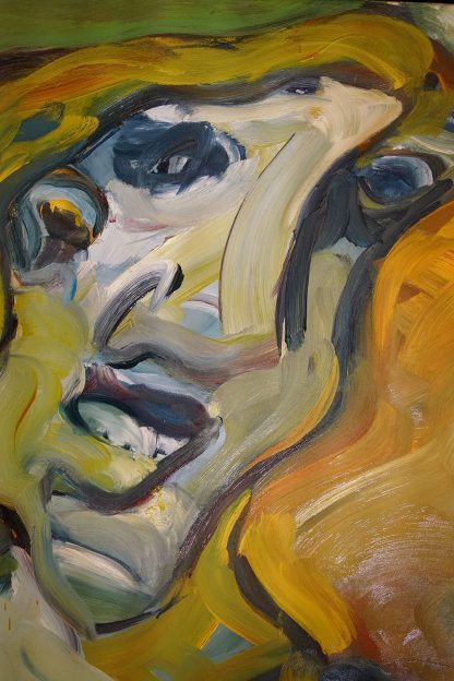 Head, oil-painting on canvas, best of artworks