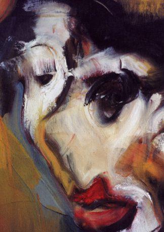 Portrait, oil-painting on canvas, original art